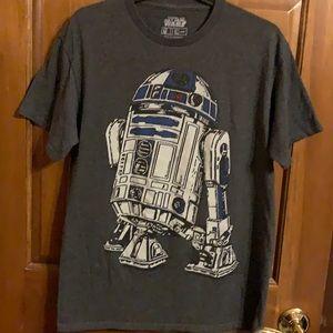 Star Wars R2D2 T-shirt. Unisex. Size medium.
